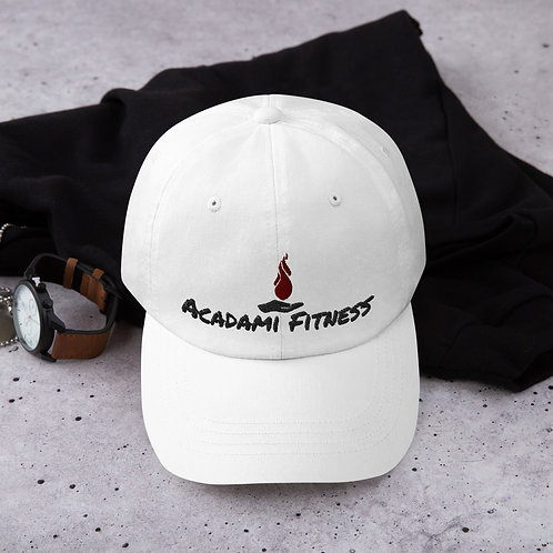 Fitness Dad Hat white