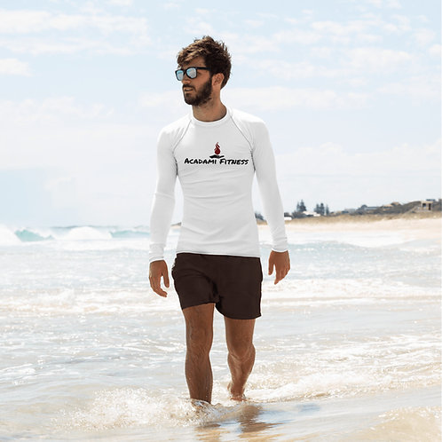 Men's Rash Guard white