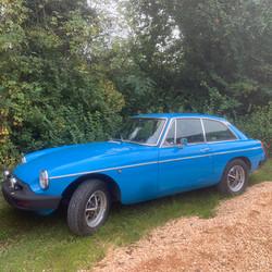 MG GT 1975