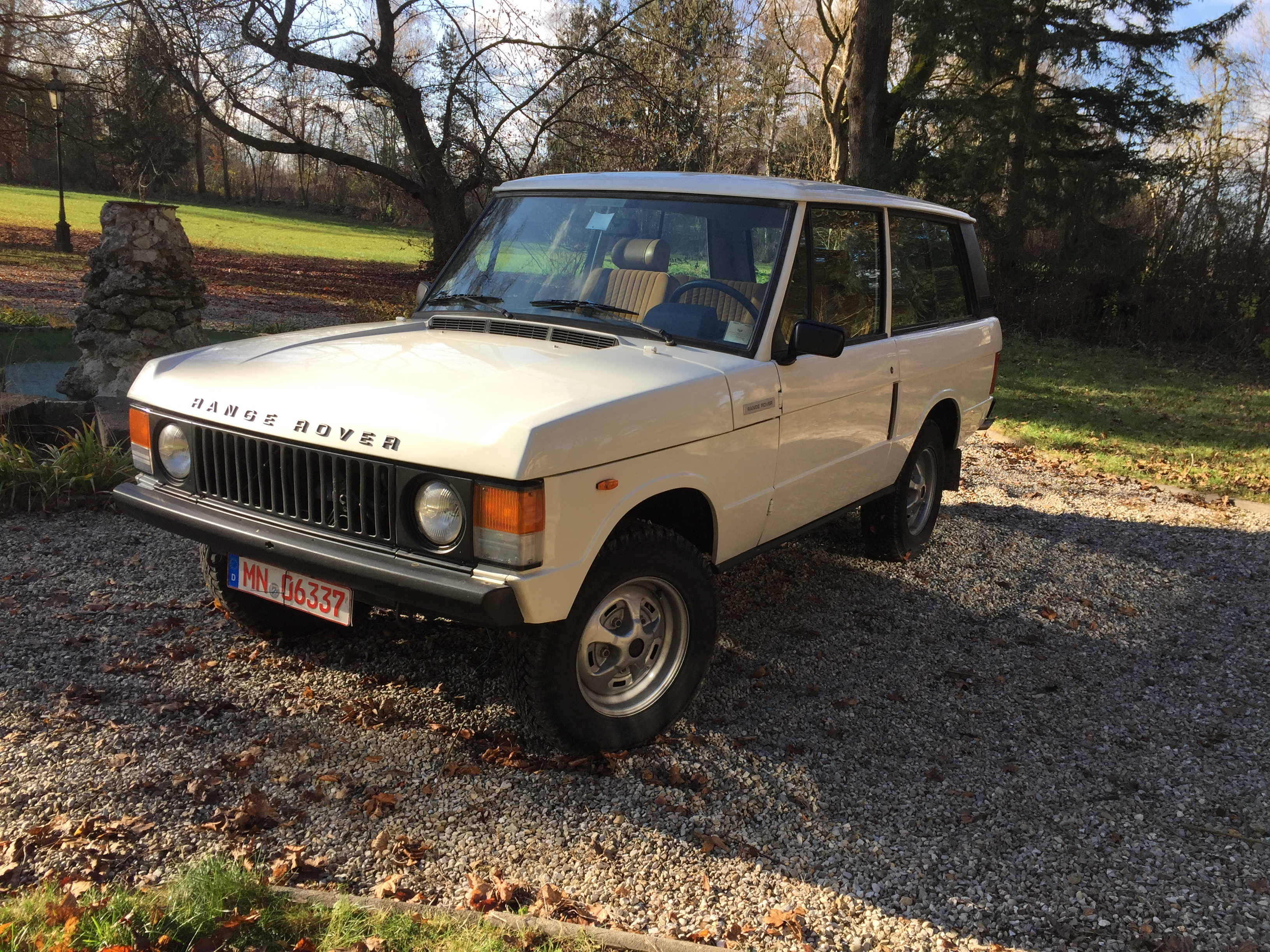 Range Rover 1978 Overdrive bianca (22)