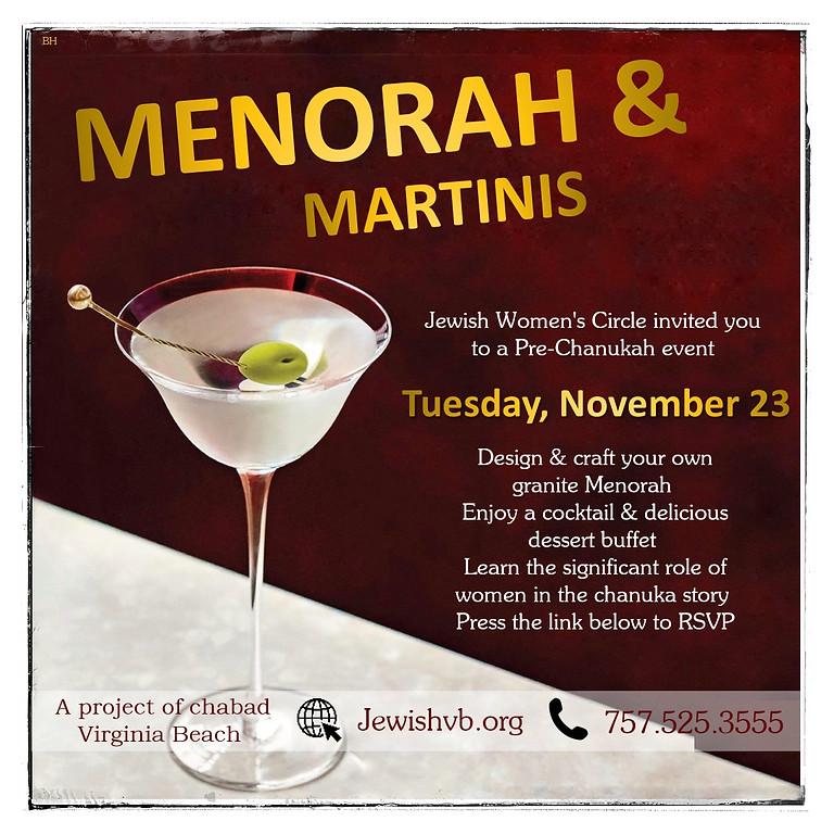 Menorah & Martini - Women's Circle