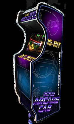 "Stickers ""Rétro Arcade Cab"" by Asroth"