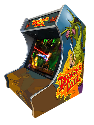 "Stickers Bartop ""Dragons Lair"""