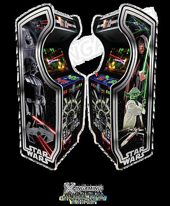 "Borne rétro HD ""Jedi Wars"" By Asroth"