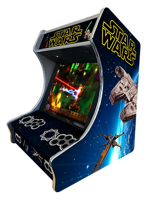 "Stickers Bartop ""Guerre Galactique"""