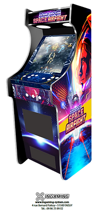 Stickers sur-mesure borne d'arcade verticale