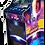 Thumbnail: Stickers sur-mesure borne d'arcade verticale