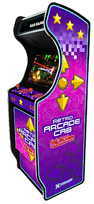 """Stickers """"Rétro Arcade Cab"""""""