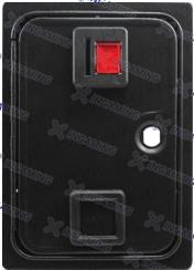 Porte simple monnayeur ou insert coin (métal)