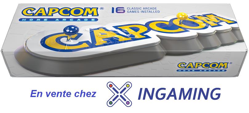 Stick Capcom Home Arcade - 2 joueurs