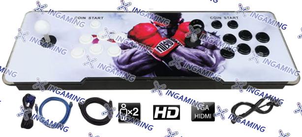 """Console TV """"Combat de Rue"""" - 2 joueurs"""