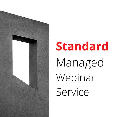Standard Managed Webinar package
