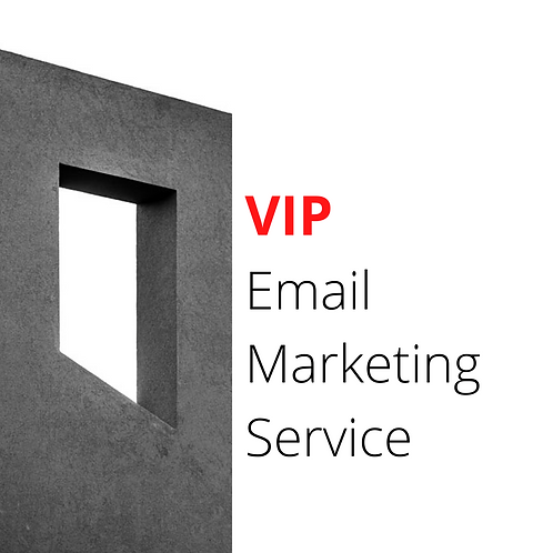 VIP Email Marketing Package (Full Service)