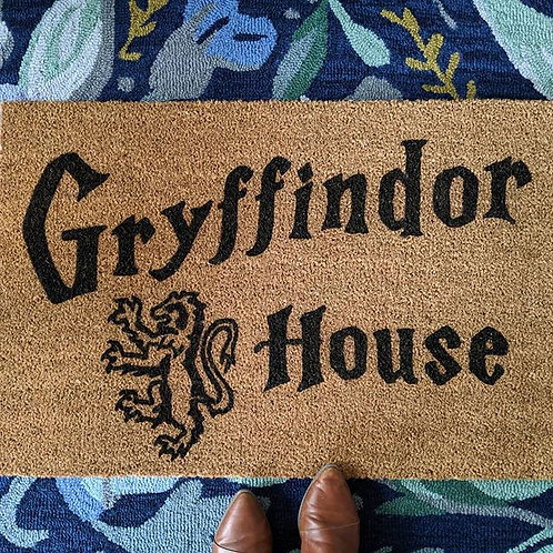 Gryffindor House | Harry Potter House Doormat