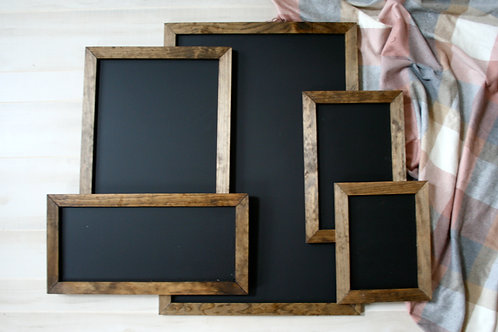 Custom Calligraphy WITH Chalkboard Sign | Various Sizes