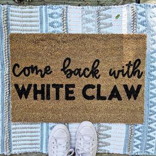 White Claw Doormat