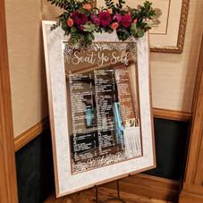 Mirror Seating board