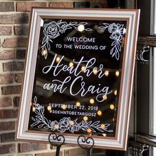 Wedding Welcome Mirror