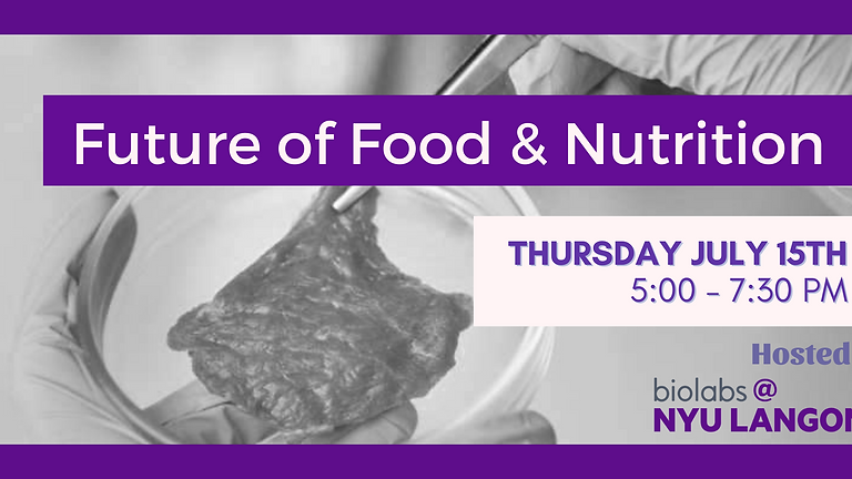 Future of Food & Nutrition