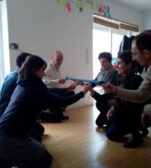 Entre réflexion et mises en pratique, formation à l'animation de l'intelligence collective -