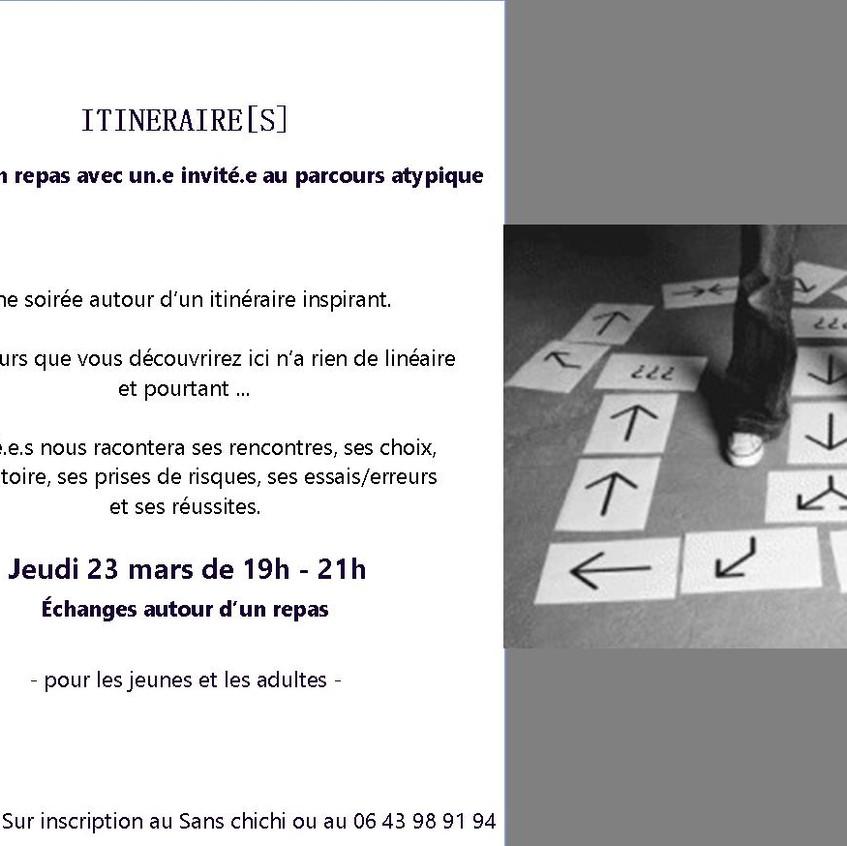 ITINERAIRE 23 mars
