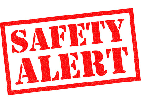 HSE safety alert issued