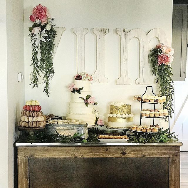 YUM Dessert Table