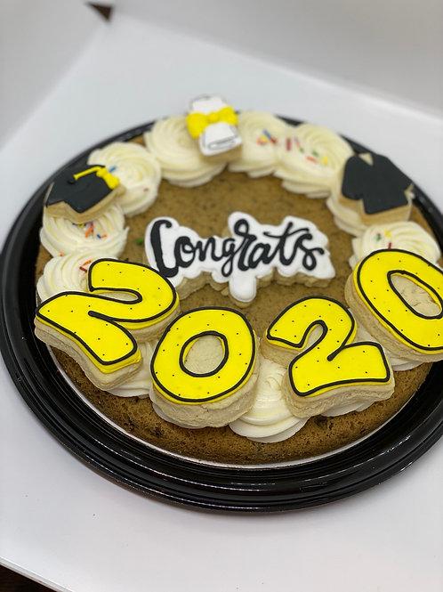 Graduation Cookie Cake