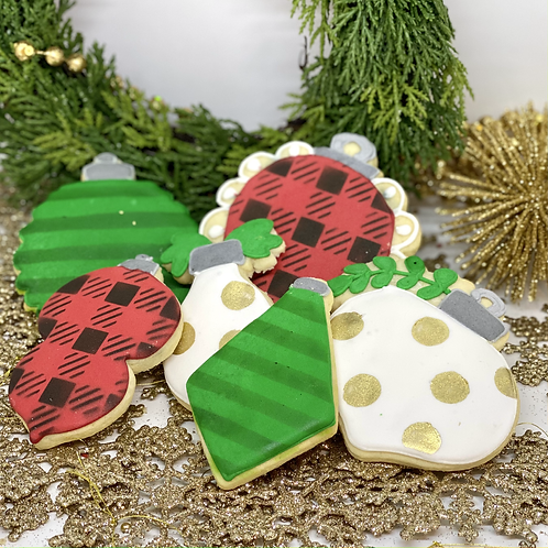 Ornament Cookie Set