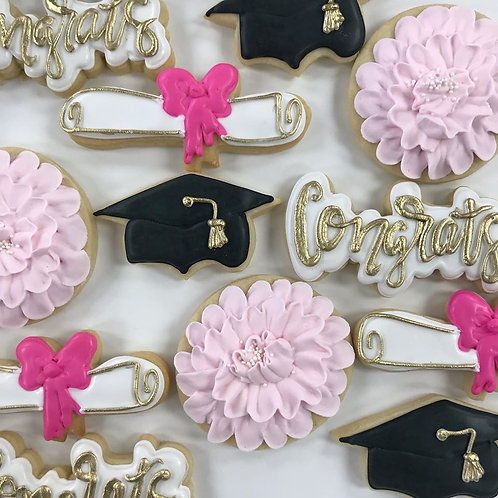 Pink Graduation Set