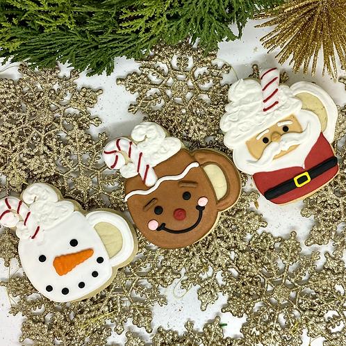 3 Piece Mug Cookie Set