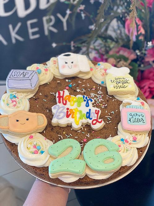 Quarantined Cookie Cake
