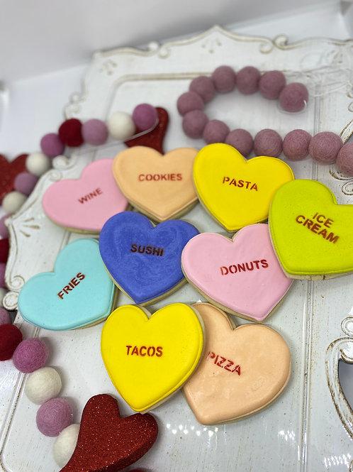 Conversational Food Cookies