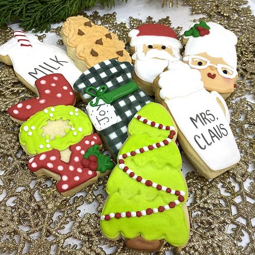 8 Piece Christmas Cookie Set