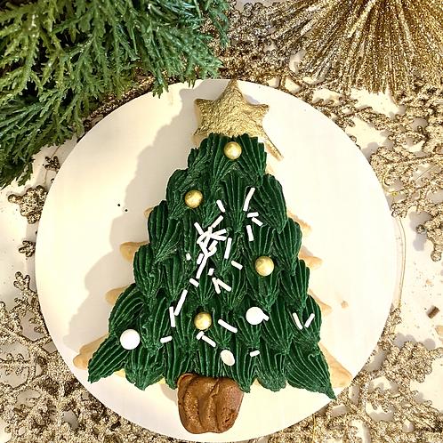 Buttercream Tree Cookie