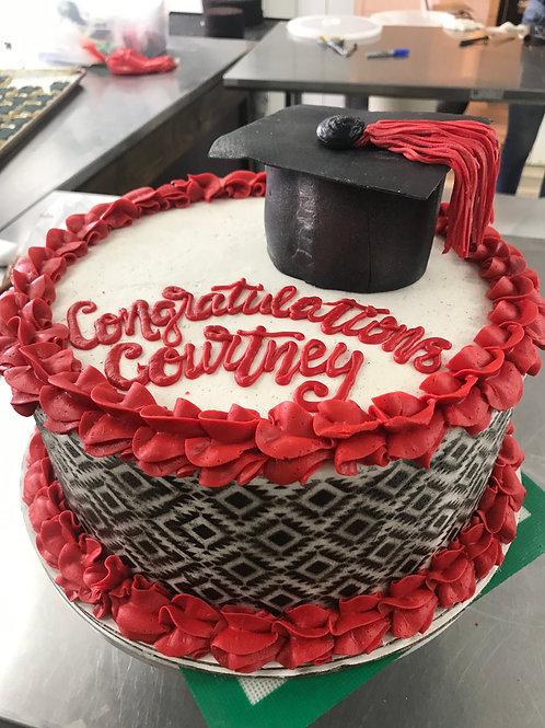 Aztec Graduation Cake
