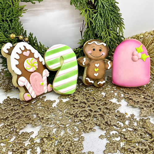 Gingerbread Sugar Cookie Set