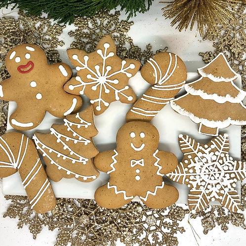 1 Dozen Gingerbread Cookies