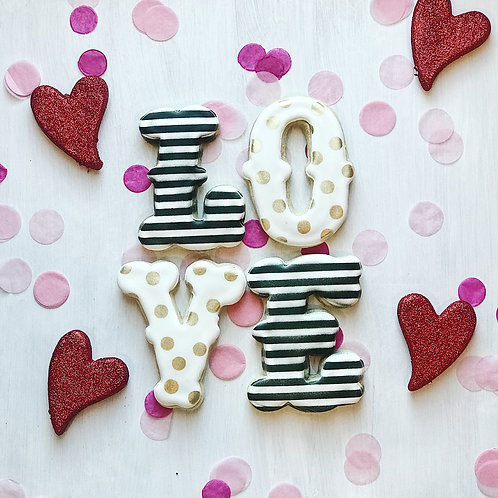 """""""Love"""" Cookies"""