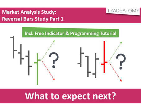 Market Analysis Study: Reversal Bars Study Part 1 (incl. Free Indicator & Programming Tutorial)