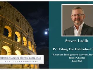 Steve Ladik Speaks At AILA Rome Event