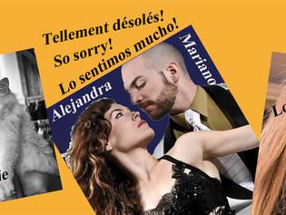 ANNULATION de la session de Juillet du Festival Tango de Crest (26)