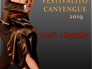 30 Août - 1 Septembre 2019, Festivalito Canyengue (et Milonga, Tango)