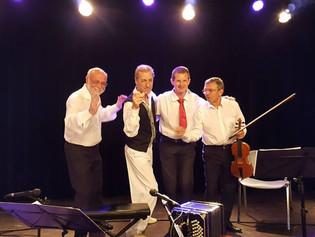 Jeudi 25 Juillet 2019, La Marca Tango en concert à Bourg en Bresse.