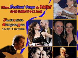 17ème Festival Tango de Crest & Festivalito Canyengue