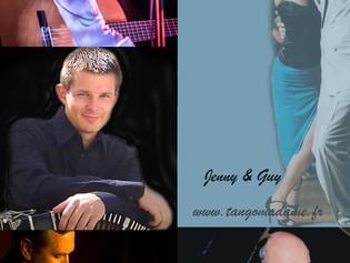 Jeudi 26 juillet, Concert Spectacle  Orchestre La Marca Tango Cuarteto et Jenny & Guy
