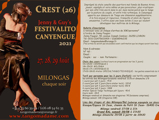 Festivalito Spécial Canyengue - 27, 28, 29 Août!