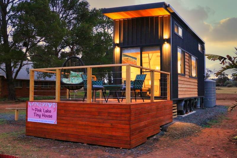 Pink Lake Tiny House