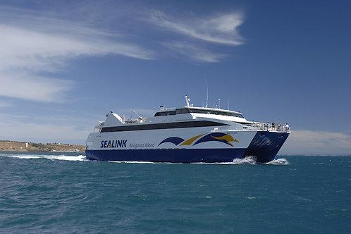 南澳袋鼠岛渡轮船票(单程/回程)