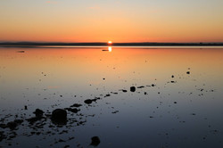 Lake Bumbunga at sunrise